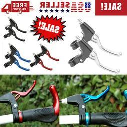 1 pair lightweight bike brake lever handle