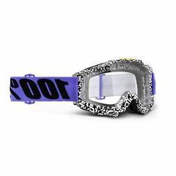 100% Accuri goggles Mountain Bike MTB downhill Black White B