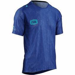 100% Celium Mountain Bike Jersey - Blue Heather
