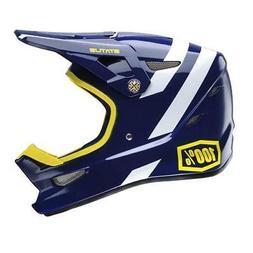 100% Status Downhill Bmx Mountain Bike Helmet Midnight Meteo