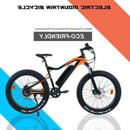 "19"" Electric Mountain Bike 500W MTB Bicycle Intelligent Ebik"