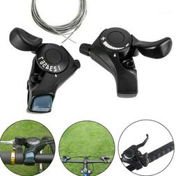 1X SL-TX30 3/6/7/18/21 Speed MTB Mountain Bike Thumb Gear Sh