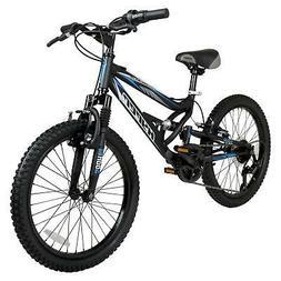 "Hyper 20"" Shocker Kids Mountain Bike Up to 135 lbs Height :4"