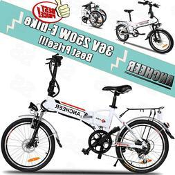 20Inch Aluminum Foldable Electric Mountain Bike Bicycle Ebik