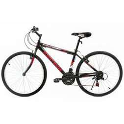 26/'/' Mountain Bike Hybrid Bike 18 Speeds Hardtail Suspension Shimano Bicycles