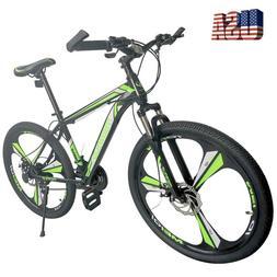 "26"" Mountain Bike 21 Speed City Bike Men's Bicycle MTB With"