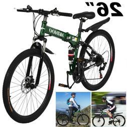 "26"" Mountain Bike Shimano 21Speed Bicycle Front suspension M"