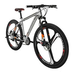 "27.5"" Full Suspension Mountain Bike Shimano 21 Speed Mens Bi"
