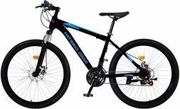 Road Cheetah 27.5 Inch Mountain Bike - 21-Speed - Aluminum F
