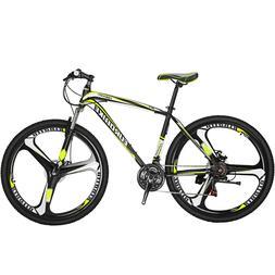 27.5 Inch Wheels Mountain Bike 21 Speed MTB Bicycle Suspensi