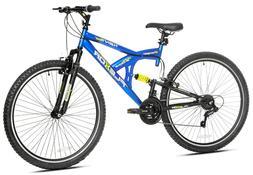 "Kent 29"" Flexor Men's Dual Suspension Mountain Bike - Blue"