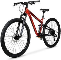 "29"" Mens Mountain Bike Aluminum Frame 9-Speed Full Suspensio"