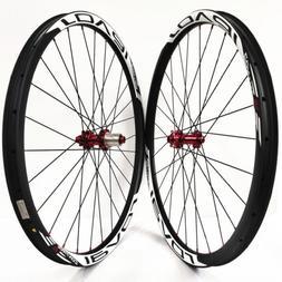 29er MTB carbon Fiber wheels Asymmetrical 33mm mountain bike