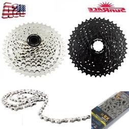 Sunrace 9 Speed 11-40T Cycling Cassette 9S MTB Bike Freewhee