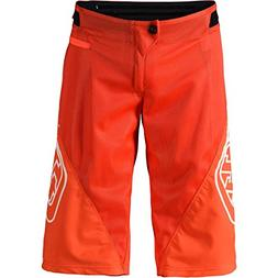 Troy Lee Designs Sprint Men's BMX Shorts - Orange / 32