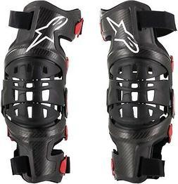 Alpinestars Adult Bionic-10 Carbon Knee Brace Pair Mountain