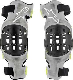 Alpinestars Adult Bionic-7 Knee Brace Pair Mountain Bike MTB