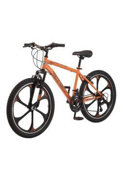 Mongoose Alert Mag Wheel mountain bike, 24-inch wheels, Oran