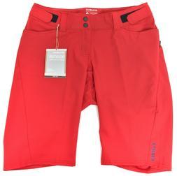 Giro Arc MTB Baggy Shorts Women SIZE 6 Adjustable Dark Red M