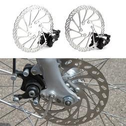 Bike Disc Brake Front & Rear Disc 160 mm Rotor Brake Kit for