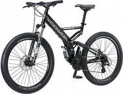 "26"" Mongoose Blackcomb Mountain Bike Black"