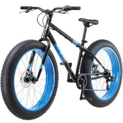 """Mongoose Dolomite Men's Fat Tire Bike, Black 26"""" Bicycle Out"""