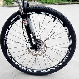 EA 90 XC mountain bike wheel Set rim Stickers for MTB Easton