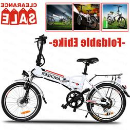 "Electric Bike for Adults, 26"" Foldable Electric Mountain Bik"