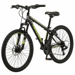 Mongoose Excursion Boys Mountain Bike 24 Inch Wheel 21 Speed