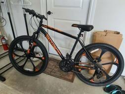 Mongoose Excursion Mountain Bike 26-inch 21 Speed Black/Oran