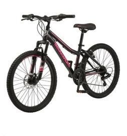 Mongoose Excursion Mountain Bike, Girls', 24-inch wheel, 21