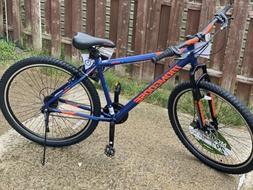 Mongoose Exhibit Mountain Bike, 29-inch Wheels, 21 Speeds Ma