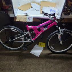 "Mongoose Girls Exlipse Mountain Bike, 24""/One Size, Pink"