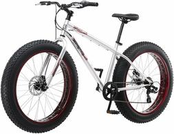 Mongoose Fat Tire Bike Mountain Bicycle 26 Wheels Steel Fram