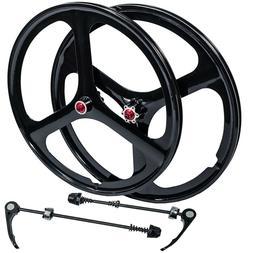 "Fit 26"" MTB Mountain Bike Wheel Set Wheelset Rims Disc Brake"