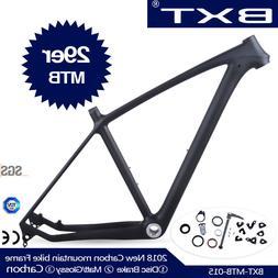 Full Carbon Mountain Bike Frame 29er Glossy/matt Carbon Fibe