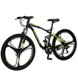 E7 Full Suspension Mountain Bike Shimano 21 Speed Disc Brake