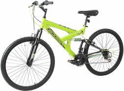 "Dynacraft  Vertical Alpine Eagle 26"" Bike Yellow Mountain Bi"