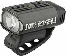 Lezyne Hecto Drive 500XL Headlight: Gloss Black