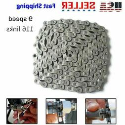 HG73 Mountain Bike 9 Speed 116Links Bicycle Chain for SHIMAN