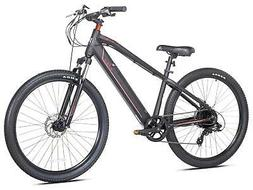 """Kent Electric Pedal Assist Mountain Bike , 27.5"""" Wheels, Bla"""