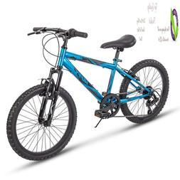 Huffy Kids Hardtail Mountain Bike For Boys, Summit Rid 20 In