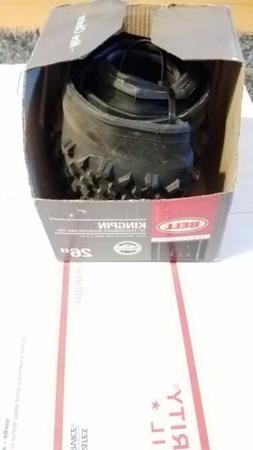 "KINGPIN Performance Mountain Tire  26"" Black KEVLAR"
