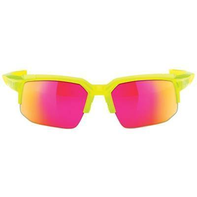100% Speedcoupe Mountain Sunglasses MTB Bicycle Yellow