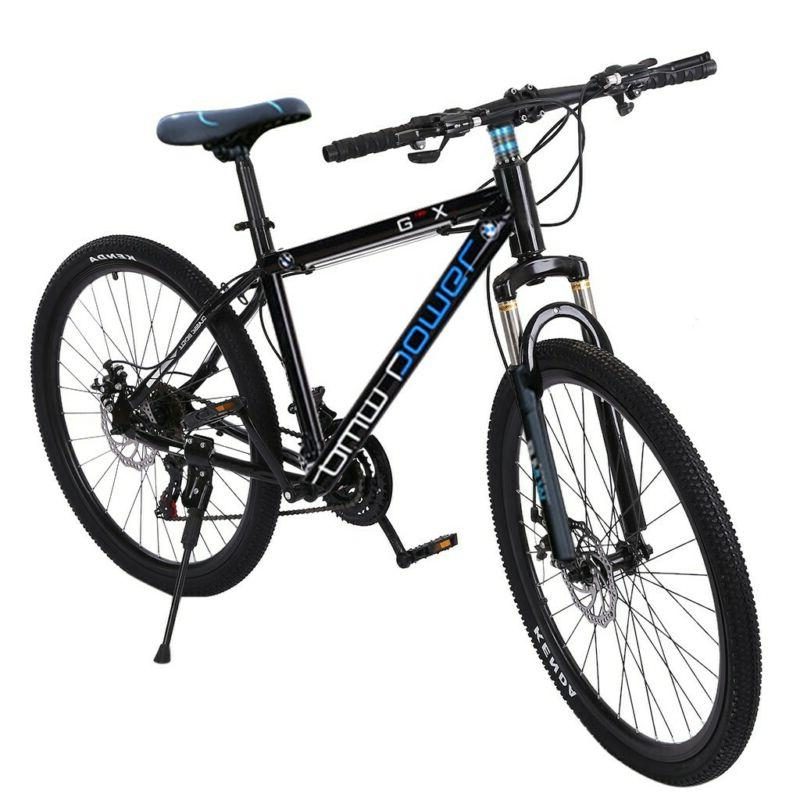 26in 21 Speed Suspension Disc Brakes Bike