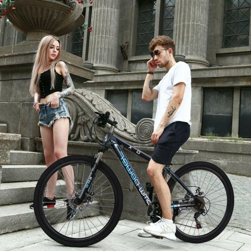 26in Bike Speed MTB Bicycle Full Suspension Brakes