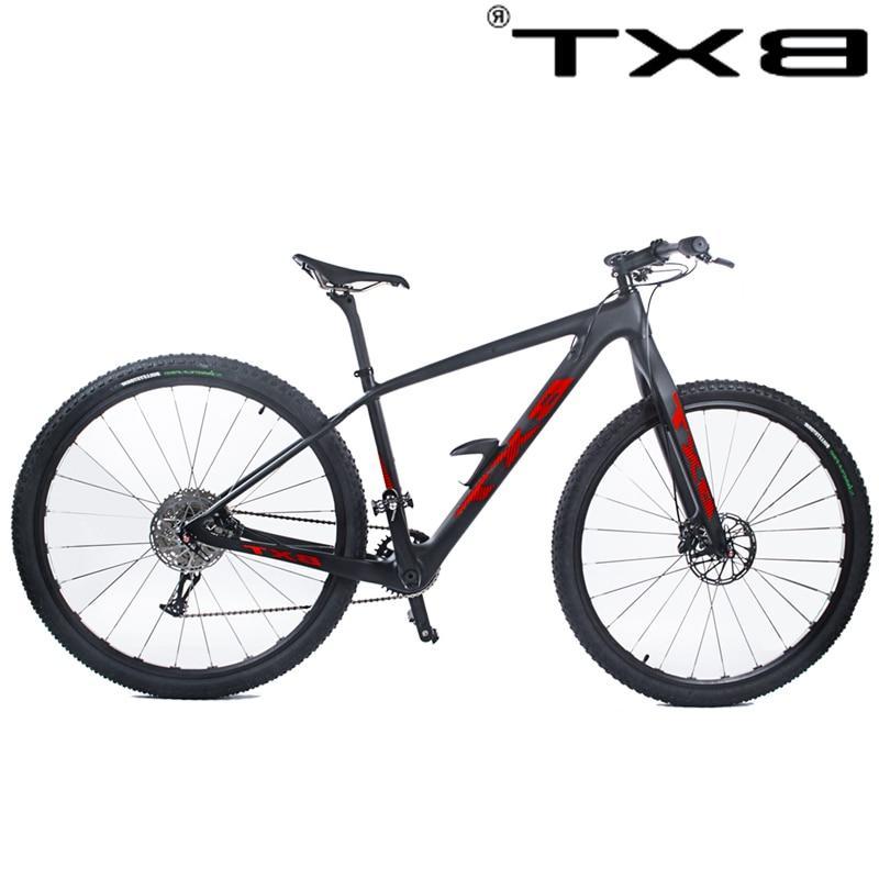 2018 Free 11Speed Mountain <font><b>Bike</b></font> 29er*2.1T800 carbon20 4 disc brake 142*12mm MTB Bicycle