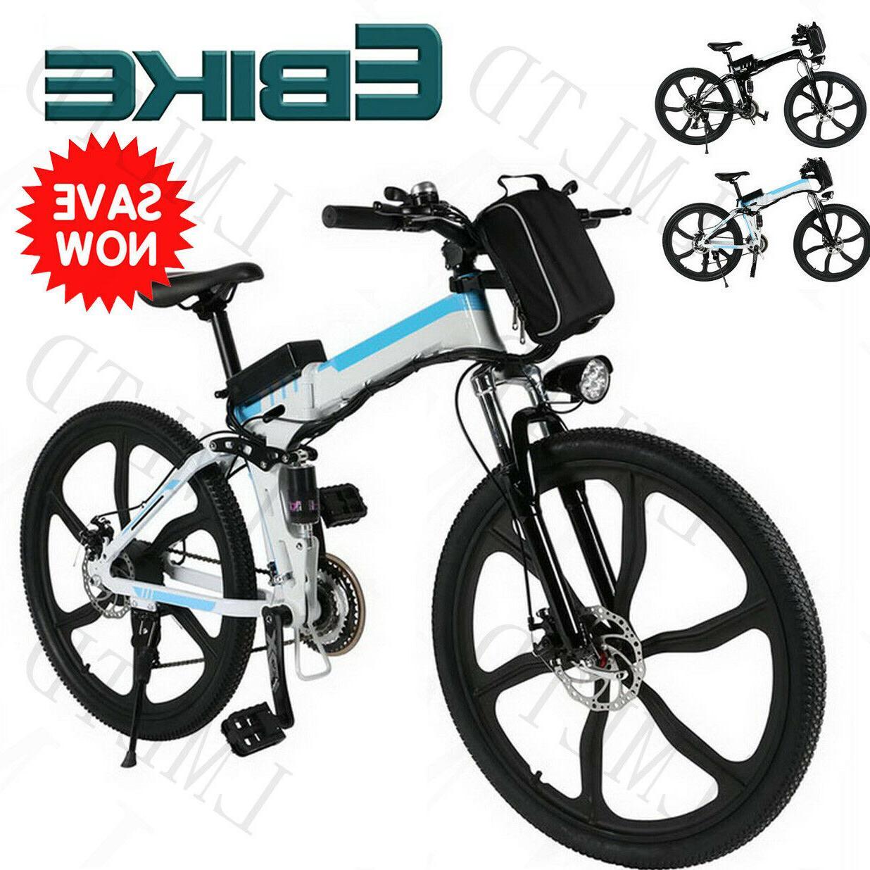 """Electric Bike 26"""" Electric Mountain Bike,"""