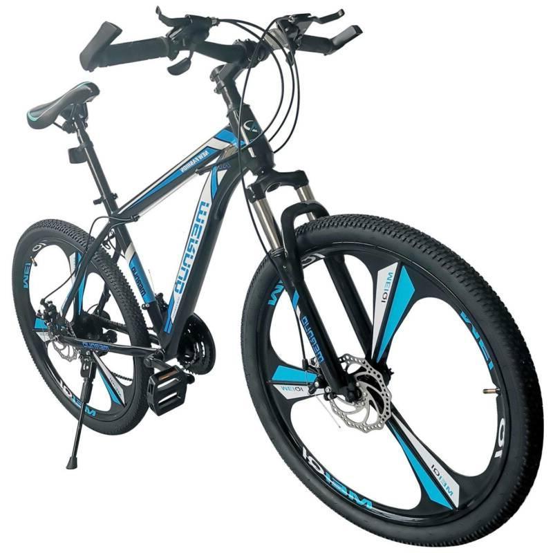 "26"" Front Suspension Mountain Bike 21-Speed Men's Bikes Bicy"