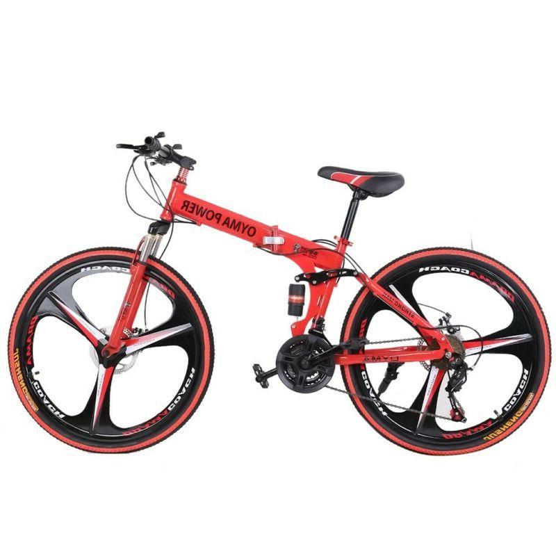 "26"" Mountain Shimano Speed Bicycle Full suspension MTB"